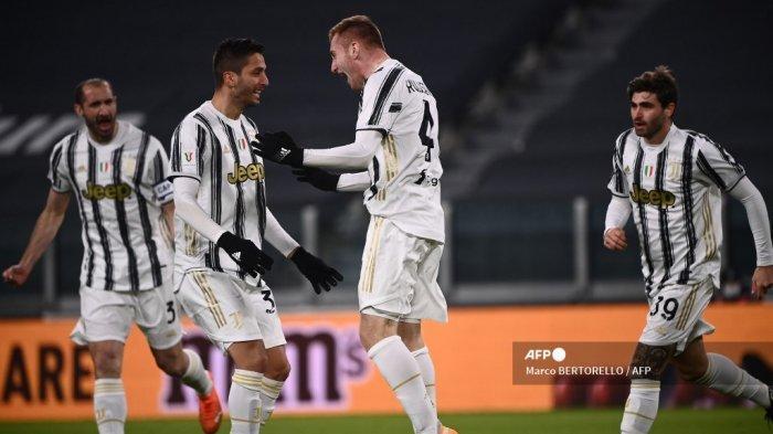 HASIL Babak I Atalanta vs Juventus Coppa Italia, Ronaldo ...