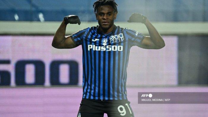HASIL Babak I Atalanta vs Napoli -  Zapata dan Pessina Bawa La Dea Selangkah ke Final Coppa Italia