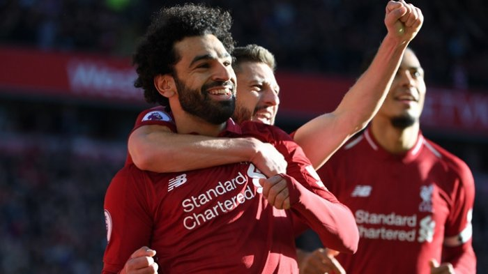 Unik, Begini Cara Mohamed Salah 'Pamer' Punya Dua Trofi Top Skorer Liga Inggris