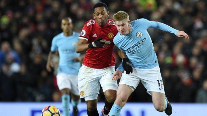Nonton Live Streaming Manchester United vs Manchester City, Liga Inggris, Saksikan Mola TV, Dinihari