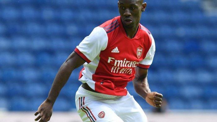 Penyerang muda Arsenal, Leon Balagun, saat beraksi melawan Rangers