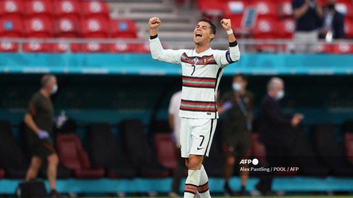 HASIL Euro 2020 - Portugal Pesta Gol ke Gawang Hungaria, Ronaldo Resmi Pecahkan Tiga Rekor Anyar