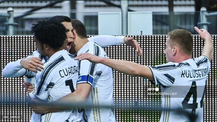 HASIL Babak I Cagliari vs Juventus Liga Italia - Cristiano Ronaldo Hattrick