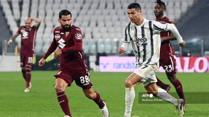 Hasil Babak I Juventus Vs Torino Liga Italia Ronaldo Dybala Melempem Si Nyonya Tua Tertinggal 0 1 Tribunnews Com Mobile