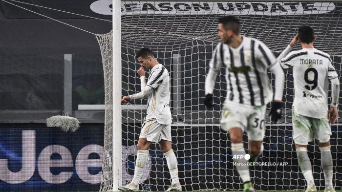 HASIL Juventus vs Atalanta, Cristiano Ronaldo Gagal Penalti, Bianconeri Gagal Dekati AC Milan