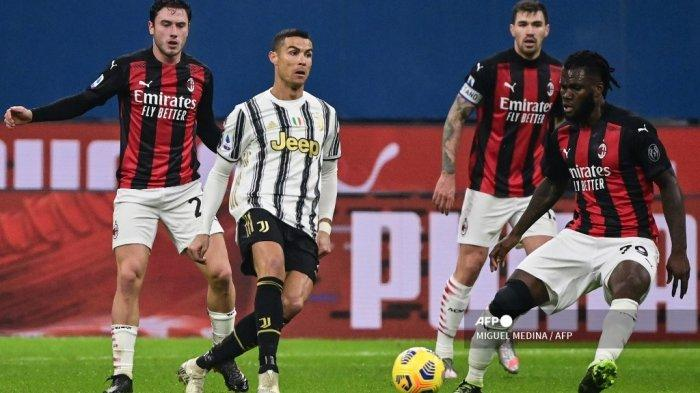LIVE Streaming Juventus vs AC Milan Liga Italia Malam Ini Pukul 01.45 WIB di beIN Sports
