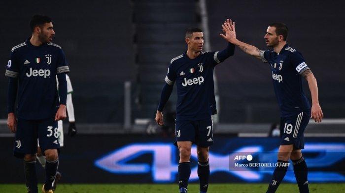 HASIL Liga Italia Tadi Malam, Roma Hambat Inter Dekati AC Milan, Juventus Atasi Perlawanan Sassuolo