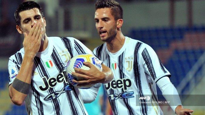 DAFTAR PEMAIN Juventus Hadapi Spezia, Siapkan 22 Pemain, Pirlo Bawa Morata, Live Streaming di Sini