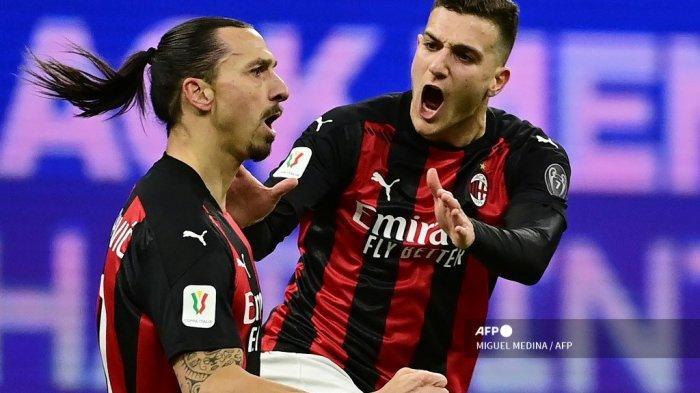 JADWAL AC Milan vs Inter Milan Liga Italia - Menanti Ibrahimovic, si Kuda Gila yang Siap Menggila