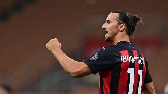 Ibrahimovic Cetak 2 Gol Kemenangan AC Milan, Mihajlovic: Dia Sosok Pembeda