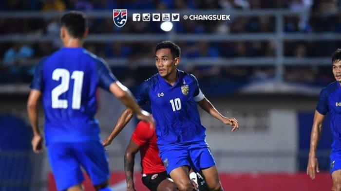 Jelang Lawan Timnas Indonesia di Kualifikasi Piala Dunia 2022, Thailand Kehilangan Striker Andalan