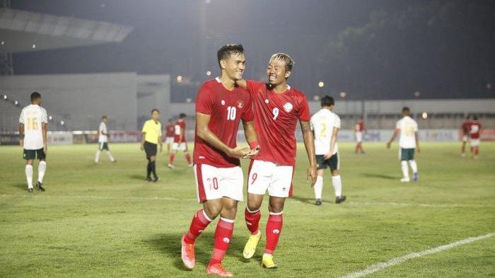 HASIL BABAK PERTAMA Timnas Indonesia U-23 vs Bali United, Rafli Cedera, KH Yudo Cetak Gol Sundulan