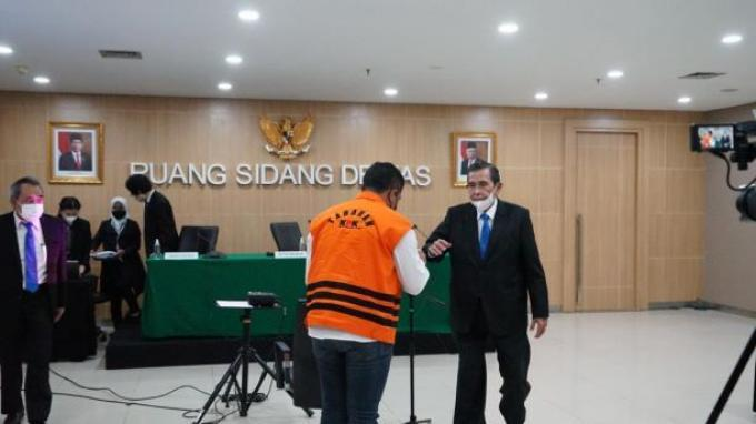Terima Suap Kasus Tanjungbalai, AKP Robin Minta Maaf Sedalam-dalamnya ke Polri dan KPK
