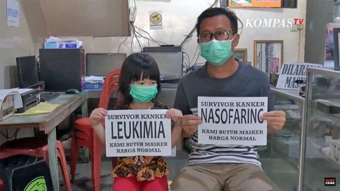 Cerita Siswanto Penyintas Kanker Pergi dari Desa ke Desa Demi Mendapatkan Masker
