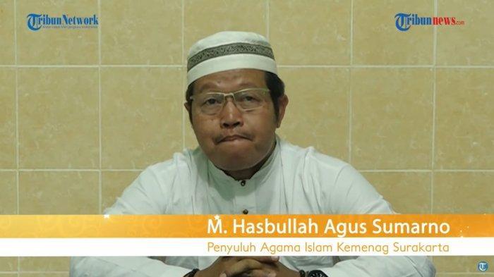 Penyuluh Agama Islam Kementerian Agama (Kemenang) Kota Surakarta, M. Hasbullah Agus Sumarno