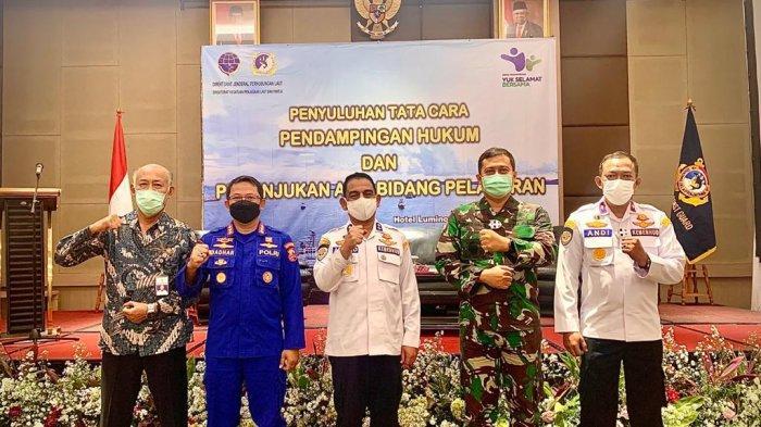 KPLP Perkuat Sinergi dengan Polair dan TNI AL dalam Bidang Penegakan Hukum Di Laut