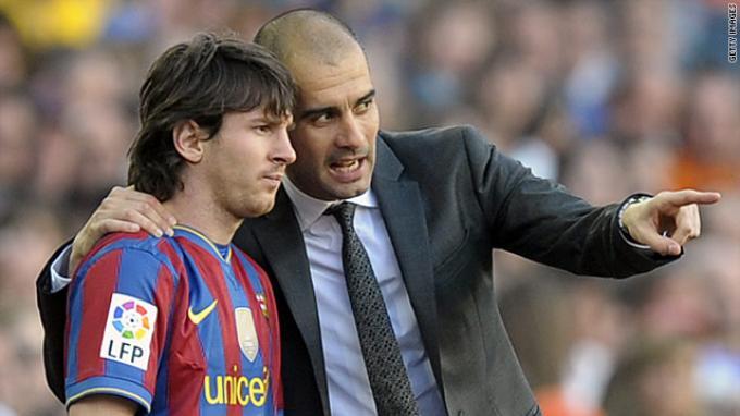 Liga Champions: Reuni Berbau Rival, Guardiola Tunggu Magis Messi Jumpa Manchester City
