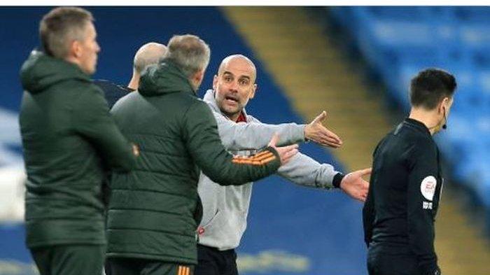 Penyebab Keributan Pep Guardiola dan Ole Gunnar Solskjaer di Pinggir Lapangan Saat Derbi Manchester