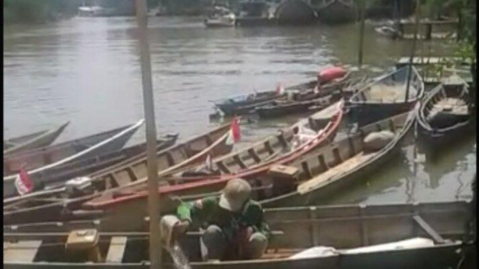 Imbas Pencemaran Sungai Satui, Nelayan Beralih Jadi Pekerja Serabutan