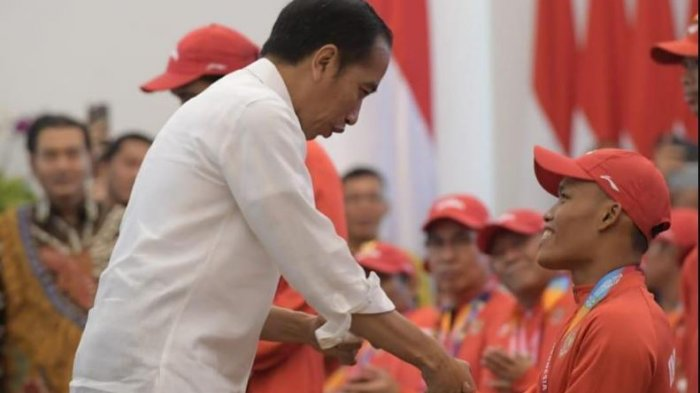 Singgung Anggaran Besar untuk Bonus Para Atlet, Jokowi: Negara Tidak Rugi