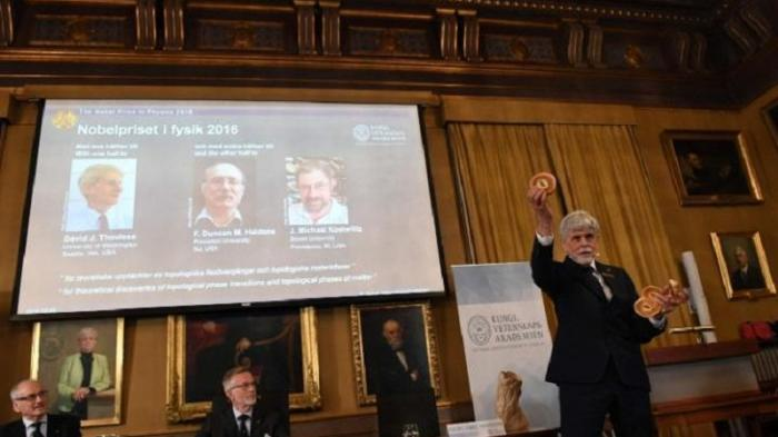 Tiga Fisikawan Inggris Raih Nobel Bidang Fisika