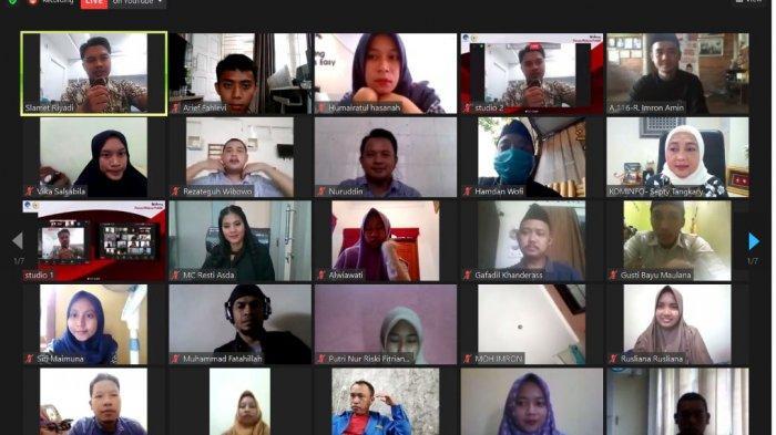"Webinar Forum Diskusi Publik dengan tema ""Peran Generasi Muda Dalam Menjaga Kedaulatan Maritim Indonesia"