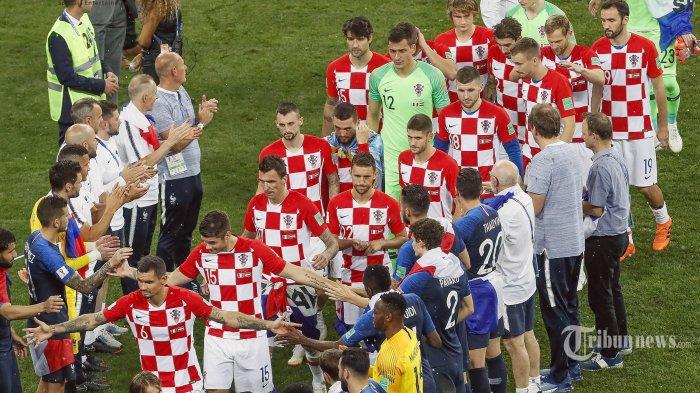 Gagal Jadi Juara Dunia, Luka Modric dkk Dikawal Jet Tempur dan Disambut Ratusan Ribu Manusia