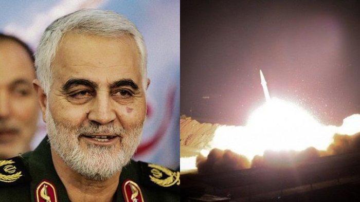 Perang Dunia III dimulai setelah Iran melakukan serangan rudal balas dendam ke pangkalan AS di Irak, Rabu (8/1/2020), atas kematian Qasem Soleimani.