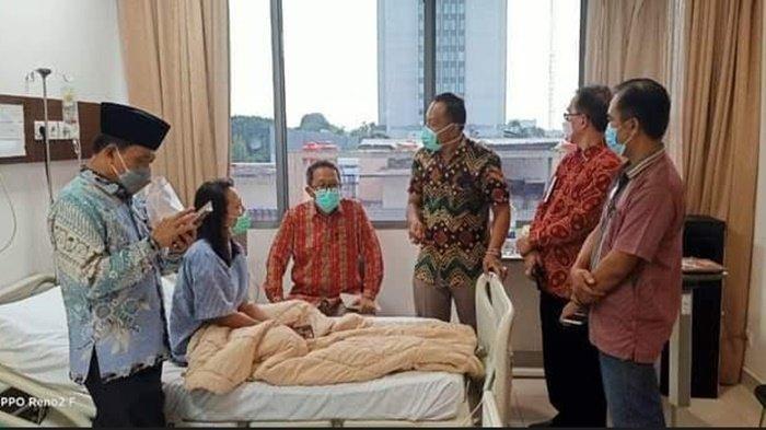 Berbincang Dengan Gubernur Sumsel, Perawat Korban Penganiayaan Minta Pelaku Diproses Hukum