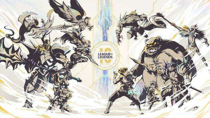 Perayaan 10 Tahun Game League of Legends digelar Riot Games di Singapura Rabu (16/10/2019)