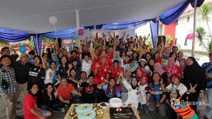 Berbagi Keceriaan dan Kegembiraan dalam HUT ke-8 Tribunnews