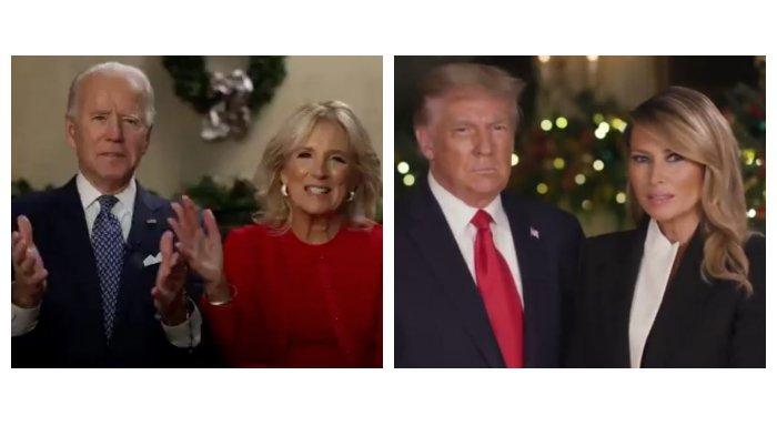 Perbedaan Pesan Natal Donald Trump & Joe Biden: Trump Hampir Tak Singgung Covid-19, Biden Sebaliknya