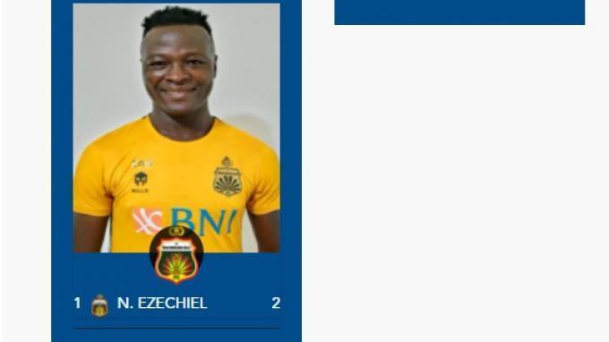 Perburuan pencetak gol terbanyak alias top skor sementara BRI Liga 1 2021 pekan pertama menempatkan Ezechiel Ndouasel dari Bhayangkara FC lewat lesakan dua golnya.