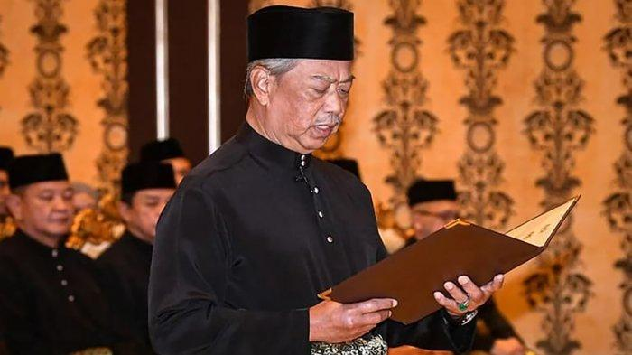 Muhyiddin Yassin Sah jadi Perdana Menteri Malaysia, Tagar NotMyPM Trending Twitter