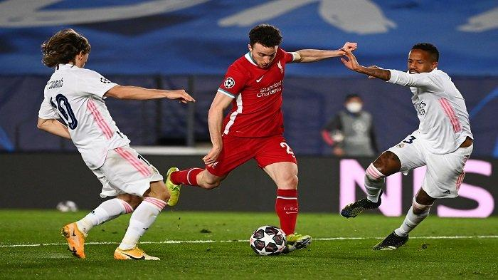 SEDANG BERLANGSUNG Liverpool vs Real Madrid, Liga Champions, Live Streaming SCTV, Akses Sini