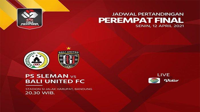 Link Live Streaming PSS Sleman Vs Bali United, Duel Berbau Persib, Maung Sudah Menanti