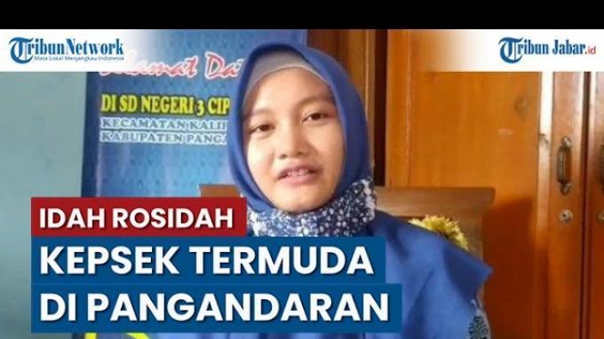 Perempuan Ini Jadi Kepala Sekolah Termuda Se-Kabupaten Pangandaran, Umurnya Baru 33 Tahun