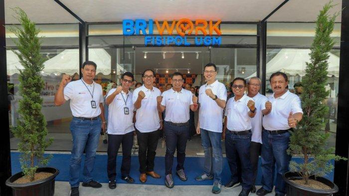 Pertama di Indonesia, BRI Buka Kantor Bank Terintegrasi Coworking Space