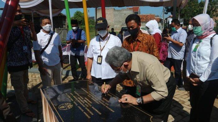 Dirjen PPKL KLHK Resmikan Ekoparian Bintang Alam di Karawang, Bisa Kelola Limbah 2.000 KK