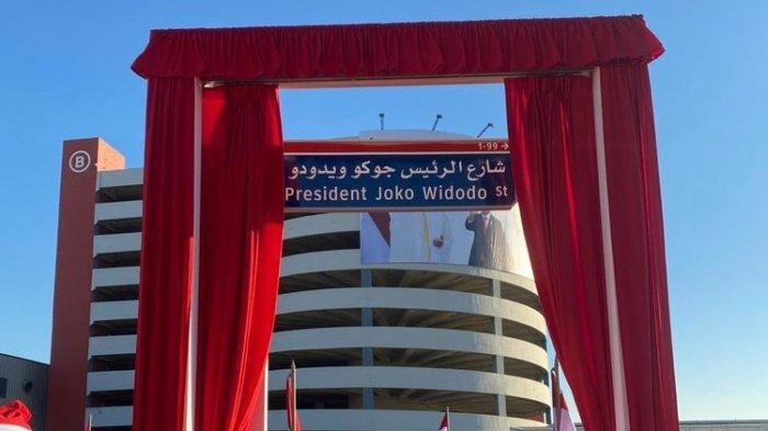 Pemerintah UEA Resmikan Jalan Presiden Joko Widodo di Abu Dhabi, Presiden: Bukan Untuk Saya Pribadi