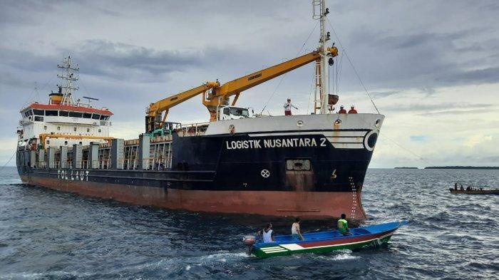 Resmi Beroperasi, Kapal Tol Laut Logistik Nusantara 2 Tiba di Pelabuhan Depapre Jayapura