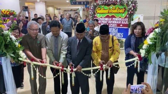 DMI Resmikan Pusat Informasi Haji dan Umrah di Trade Mall Mangga Dua