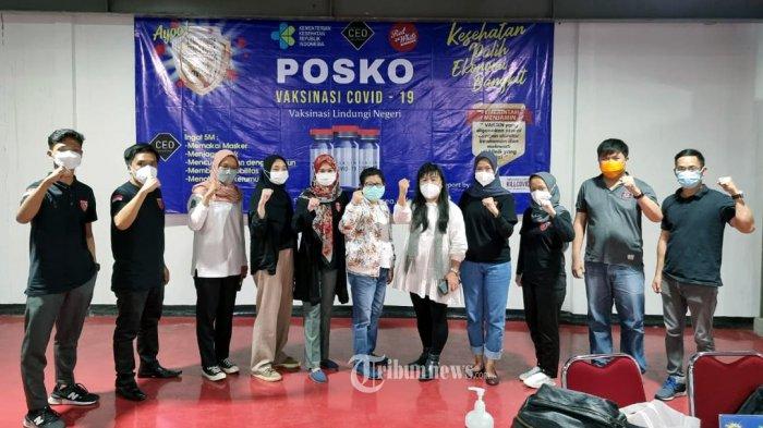 Yayasan Global CEO Indonesia Resmian Posko Terpadu Vaksinasi Covid-19 Nasional.