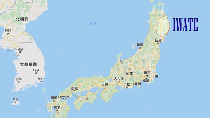 Perfektur Iwate di utara Jepang yang masih belum tercemar infeksi Covid-19.