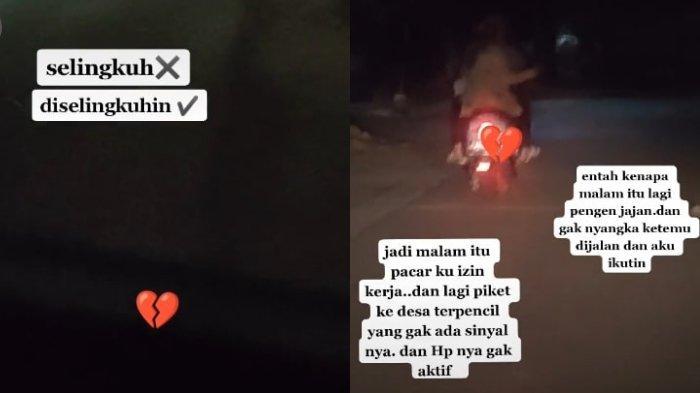 VIRAL Video Cewek Pergoki Pacar Selingkuh dengan Sahabat Sendiri, Tak Sengaja Ketemu di Jalan