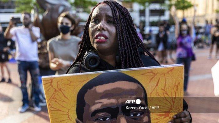 Minneapolis Adakan Aksi Unjuk Rasa dalam Rangka Peringatan Kematian George Floyd