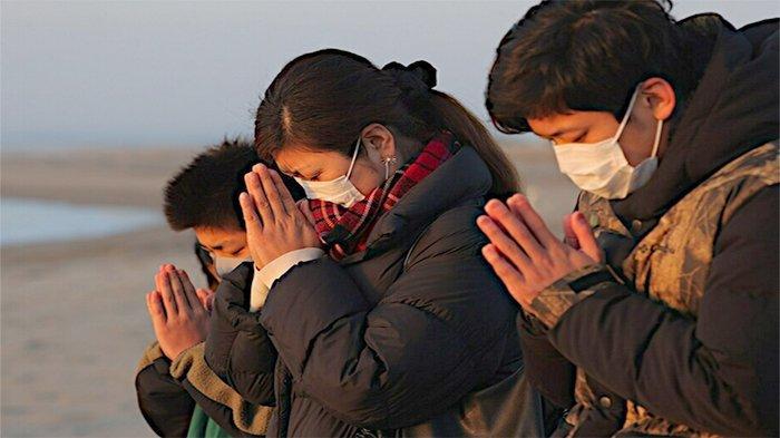 Jepang Beri Penghormatan kepada Korban Gempa Bumi dan Tsunami 2011