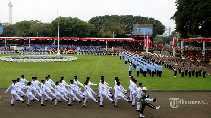 Istana: Paskibaraka HUT Ke-75 RI Diambil dari Anggota Tahun 2019