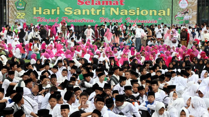 Satu Juta Peserta Peringati Hari Santri Nasional di Jawa Timur