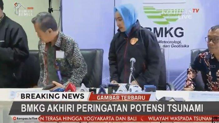 Gempa Banten 7,4 SR 2 Agustus 2019, BMKG Akhiri Peringatan Potensi Tsunami Setelah Menunggu 2 Jam